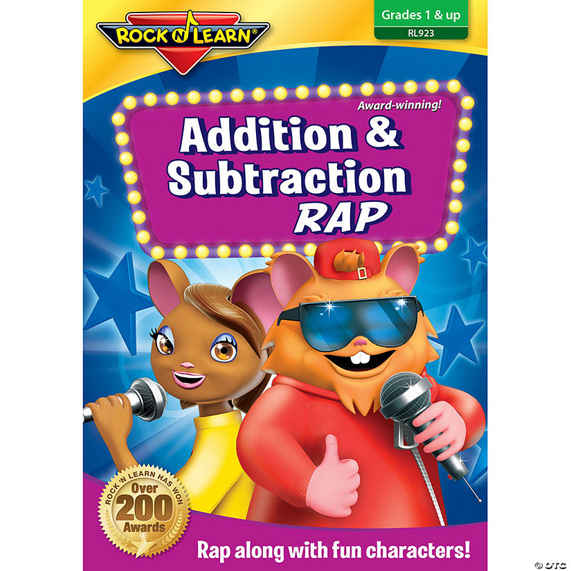 Rock 'N Learn® Addition & Subtraction Rap DVD