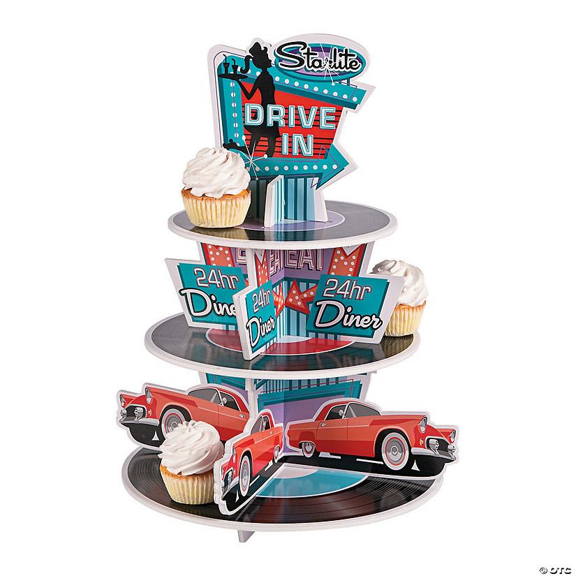 Rockin 50 S Cupcake Stand13685547