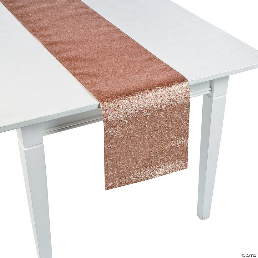 Rose Gold Glitter Table Runner
