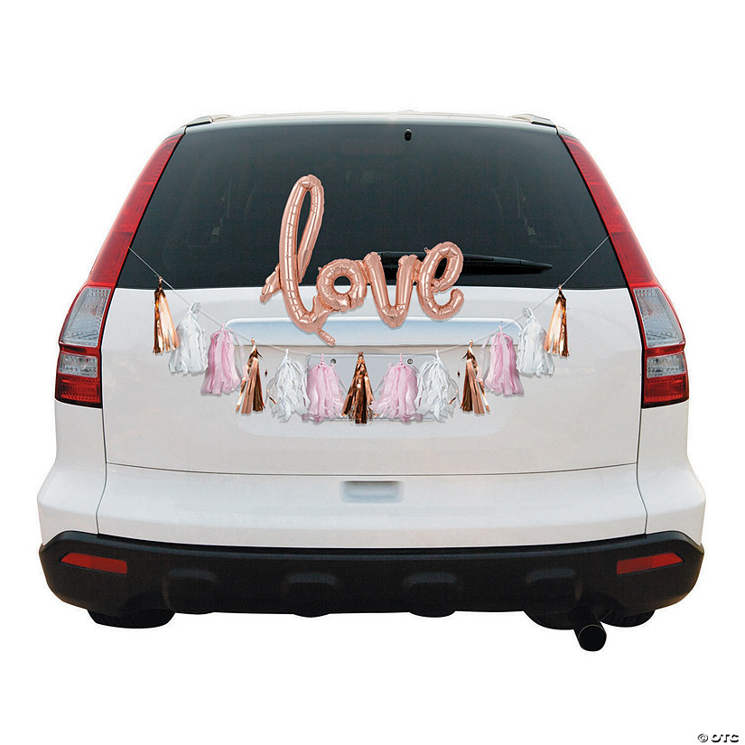 Rose Gold Love Wedding Car Parade Decorating Kit Audio Thumbnail
