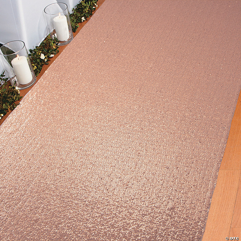 Rose Gold Sequin Aisle Runner Audio Thumbnail