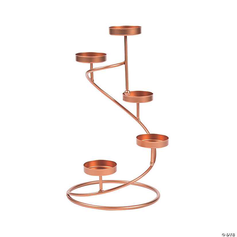 Round Copper Tea Light Candle Holder Audio Thumbnail
