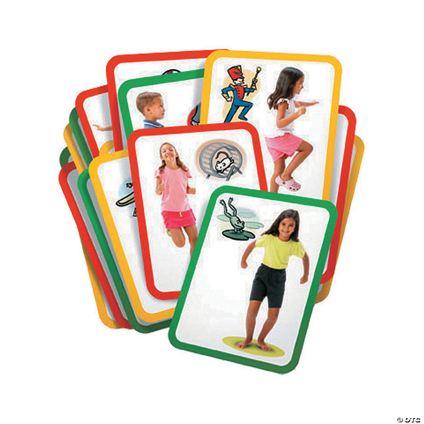 "Roylco® Busy Body Gross Motor Exercise Cards, 8-1/2"" x 11"", 16 cards"