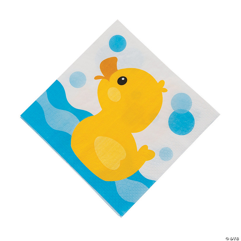 Rubber Ducky Luncheon Napkins