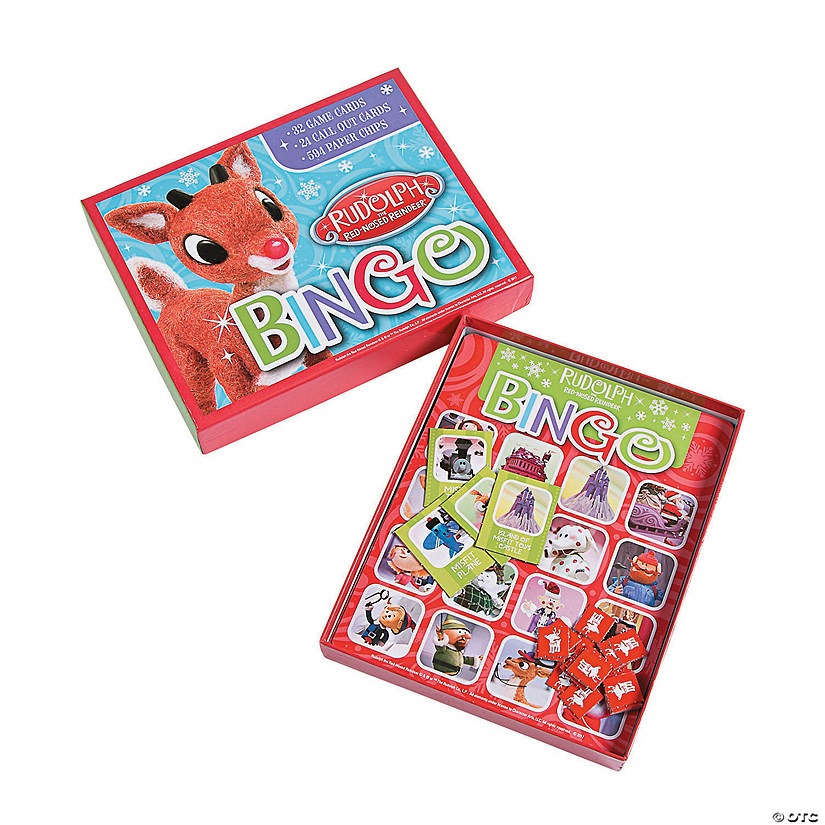 Rudolph the Red Nosed Reindeer® Bingo Game Image Thumbnail