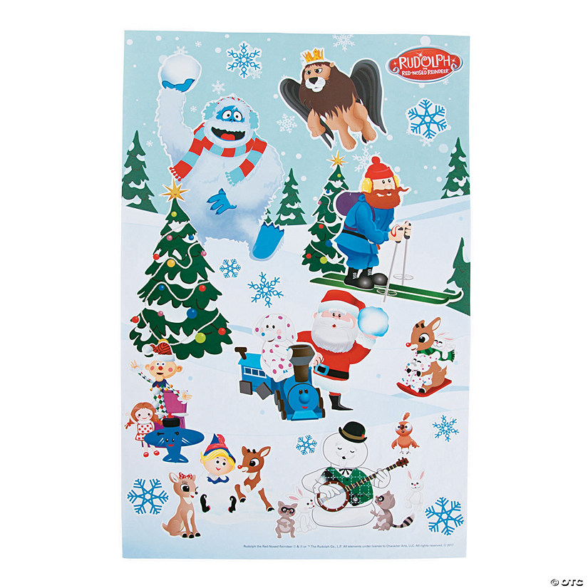 Rudolph the Red-Nosed Reindeer® Sticker Scenes Audio Thumbnail