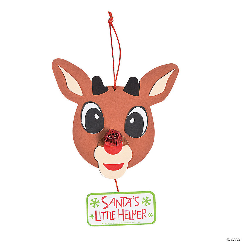Rudolph the Red-Nosed Reindeer<sup>&#174; </sup>Sign Craft Kit Audio Thumbnail
