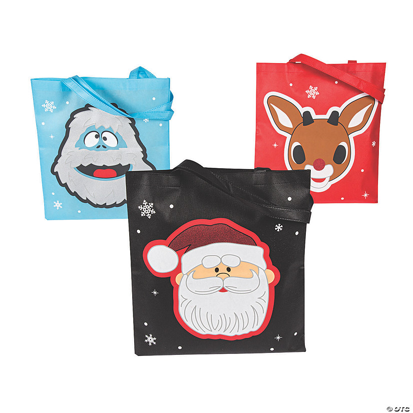 Rudolph the Red-Nosed Reindeer<sup>&#174;</sup> Large Tote Bags Image Thumbnail