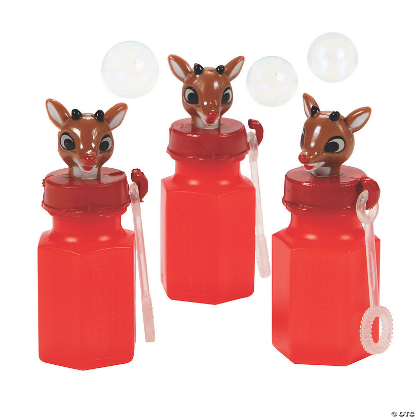 Rudolph the Red-Nosed Reindeer<sup>&#174;</sup> Mini Bubble Bottles Image Thumbnail