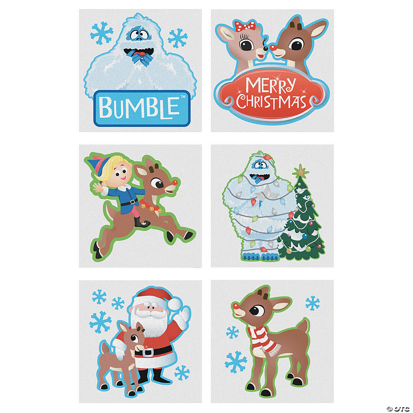 Rudolph the Red-Nosed Reindeer<sup>&#174;</sup> & Friends Temporary Tattoos Audio Thumbnail
