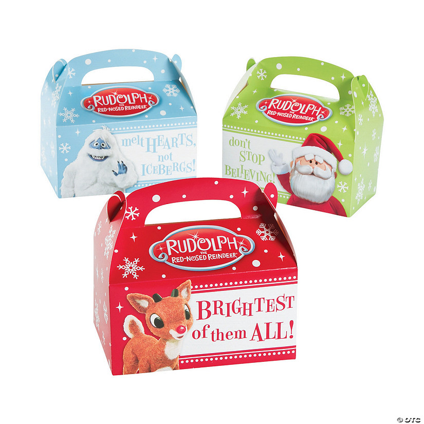 Rudolph the Red-Nosed Reindeer<sup>&#174;</sup> Christmas Treat Boxes Audio Thumbnail