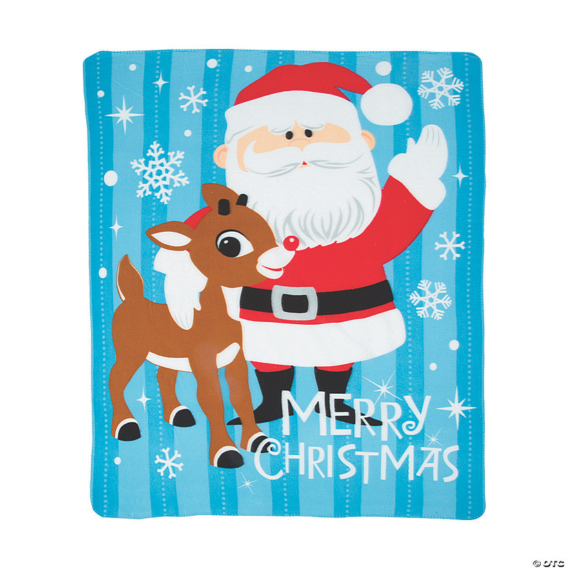 Rudolph the Red-Nosed Reindeer<sup>&#174;</sup> Fleece Throw Audio Thumbnail