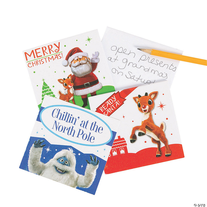 Rudolph the Red-Nosed Reindeer<sup>&#174;</sup> Notepads Audio Thumbnail