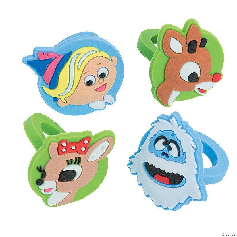 Rudolph Christmas Movie Characters.Rudolph The Red Nosed Reindeer Sup Sup Rings Discontinued