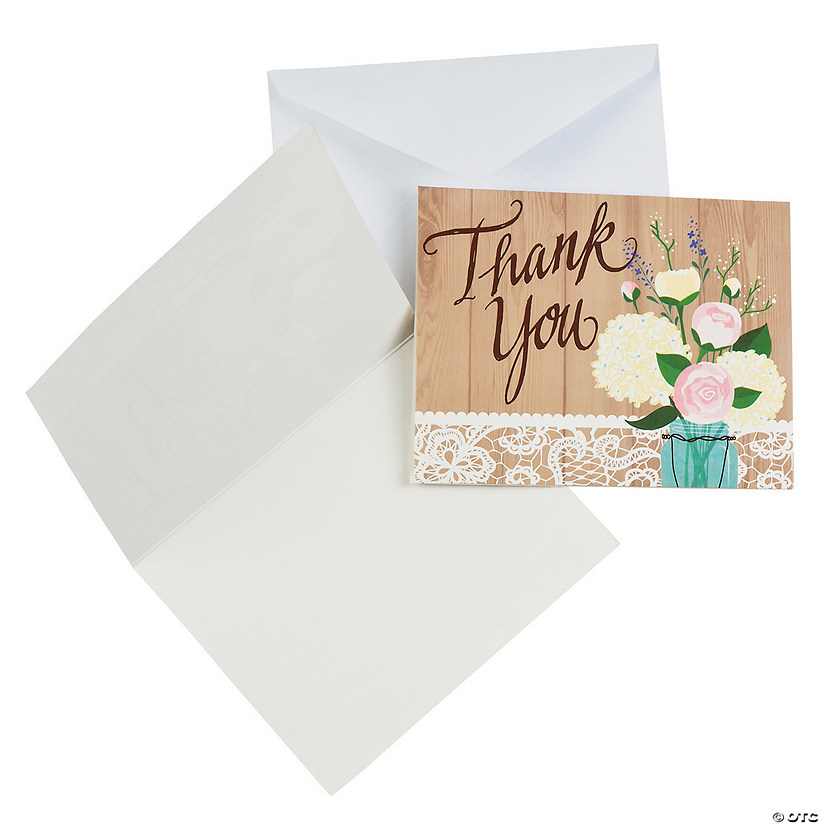 Rustic Wedding Thank You Cards Audio Thumbnail