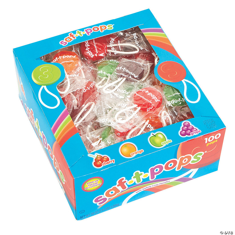 Saf-T-Pops<sup>&#174;</sup> Lollipops Audio Thumbnail
