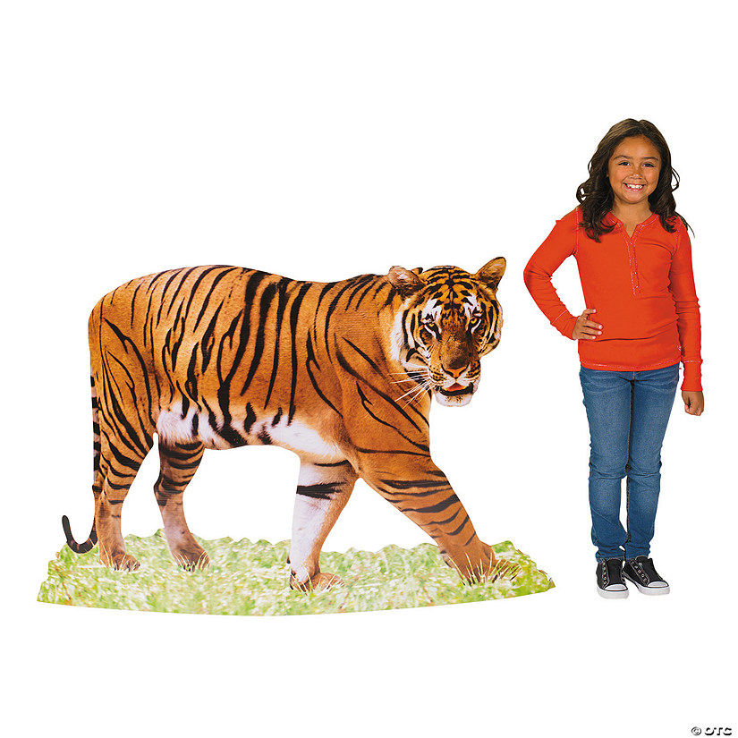 Safari Tiger Cardboard Stand-Up
