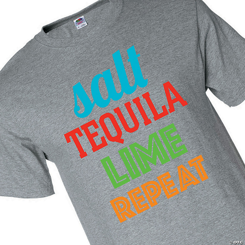Salt, Tequila, Lime, Repeat Adult's T-Shirt Audio Thumbnail