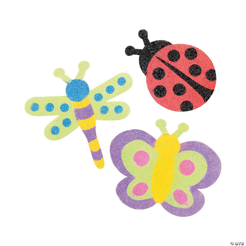 Sand Art Bug Magnet Craft Kit Audio Thumbnail