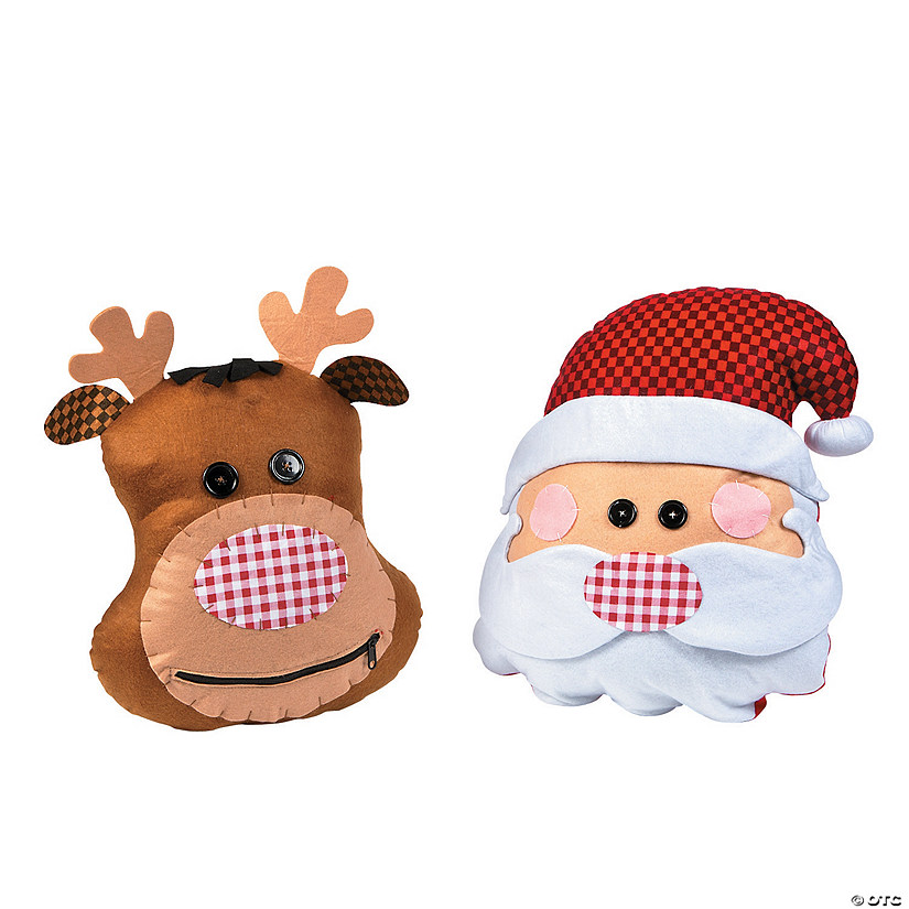 Santa & Reindeer Pillows Audio Thumbnail