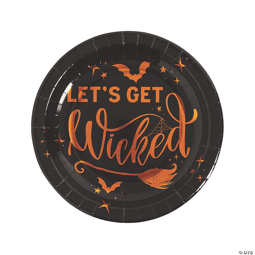 Sassy Witches Paper Dinner Plates - 8 Ct. Image Thumbnail