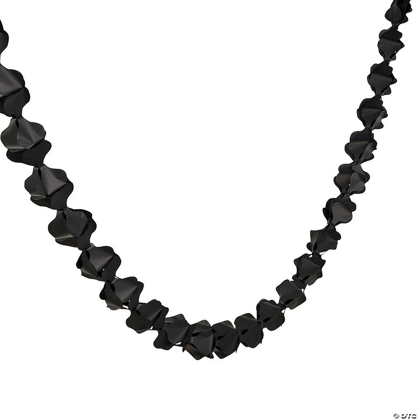 Scalloped Garland - Black