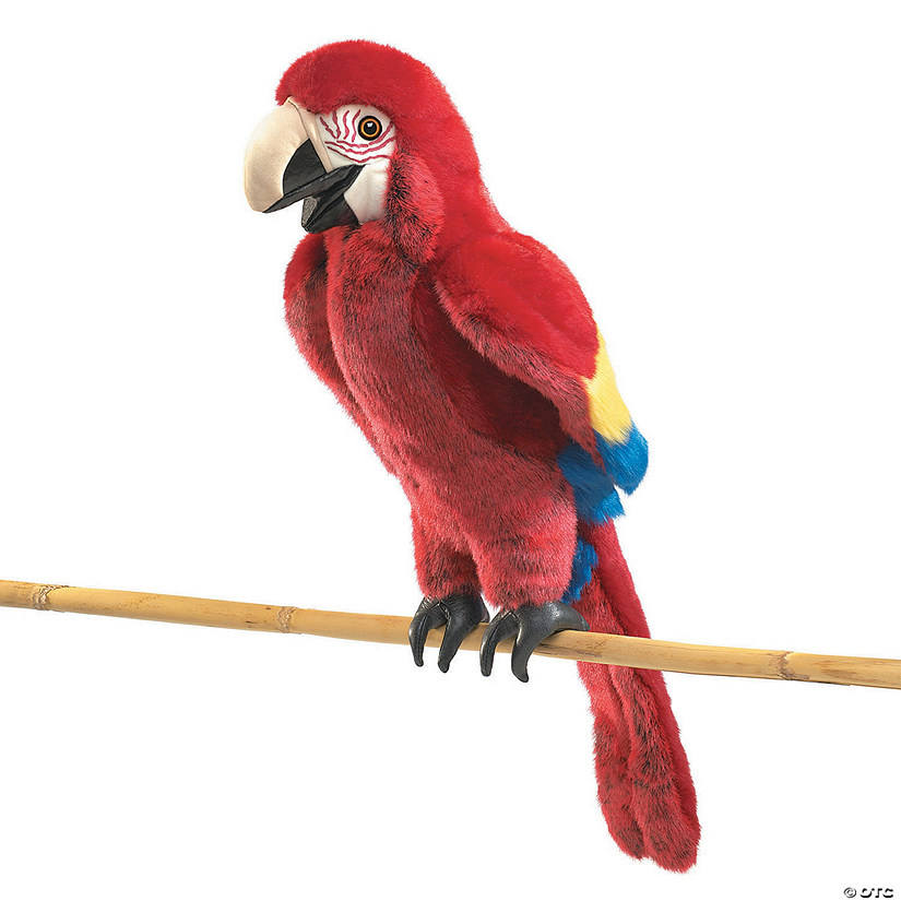 Scarlet Macaw Hand Puppet Audio Thumbnail