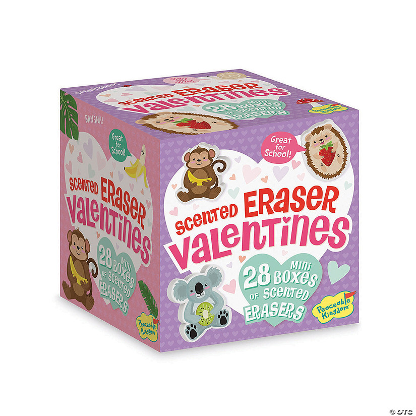 Scented Eraser Valentines Image Thumbnail