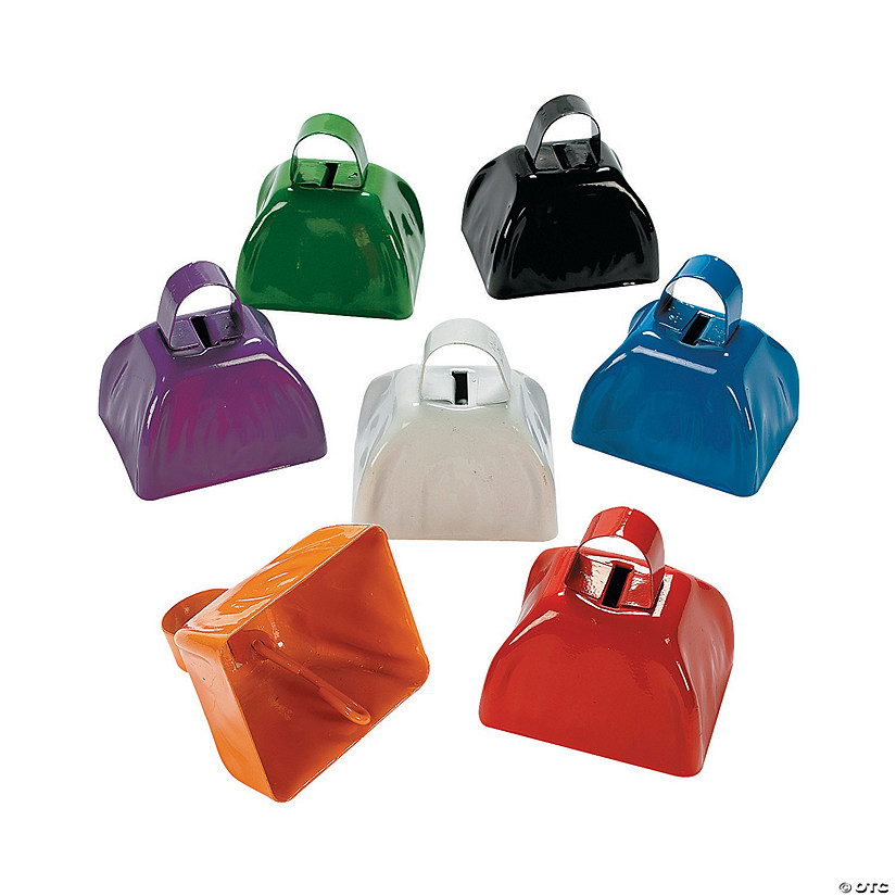 School Color Cowbells