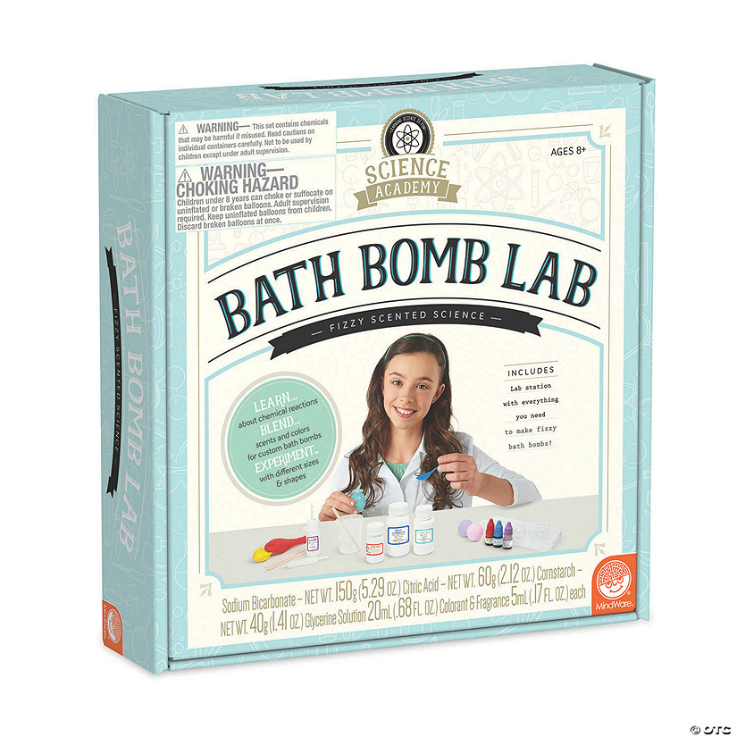 Science Academy: Bath Bomb Lab