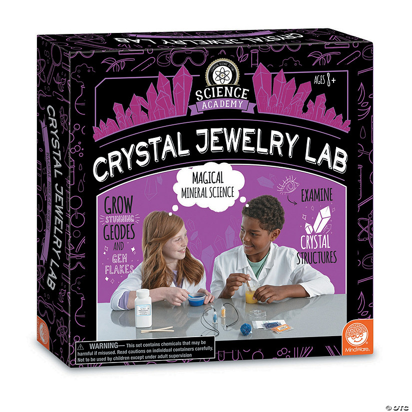 Science Academy: Crystal Jewelry Lab Audio Thumbnail
