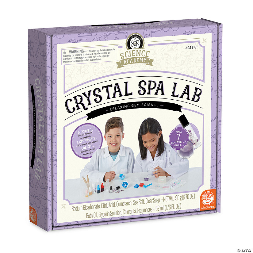 Science Academy: Crystal Spa Lab Audio Thumbnail
