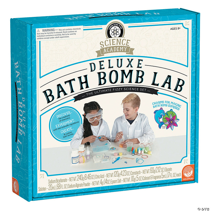 Science Academy: Deluxe Bath Bomb Lab Audio Thumbnail