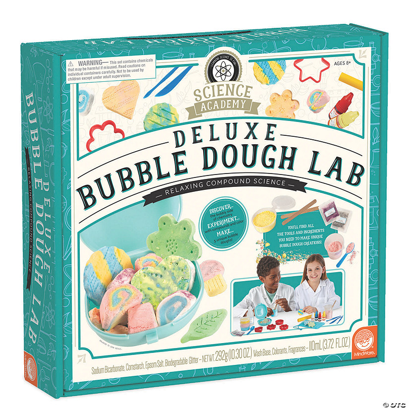 Science Academy: Deluxe Bubble Dough Lab Image Thumbnail