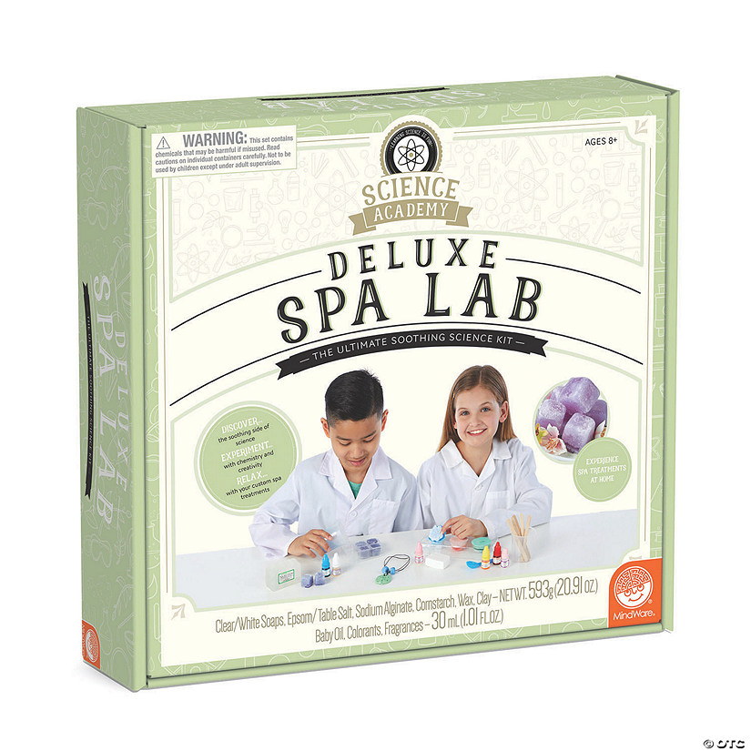 Science Academy: Deluxe Spa Lab Audio Thumbnail