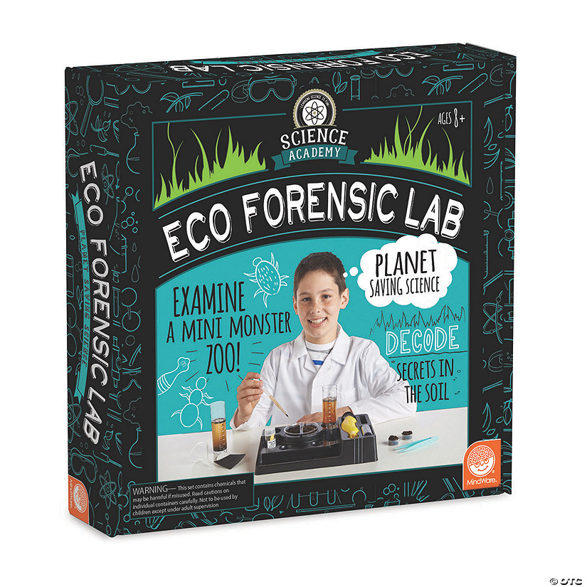 Science Academy: Eco Forensics Lab Audio Thumbnail