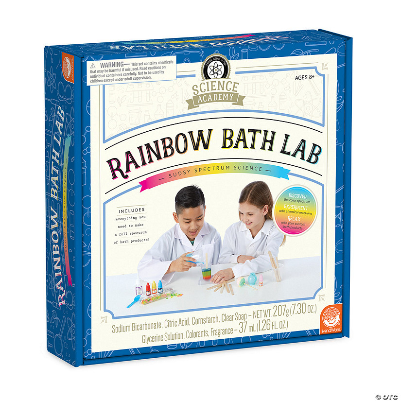 Science Academy: Rainbow Bath Lab Image Thumbnail