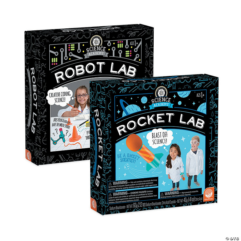 Science Academy Rocket and Robot Lab: Set of 2 Image Thumbnail