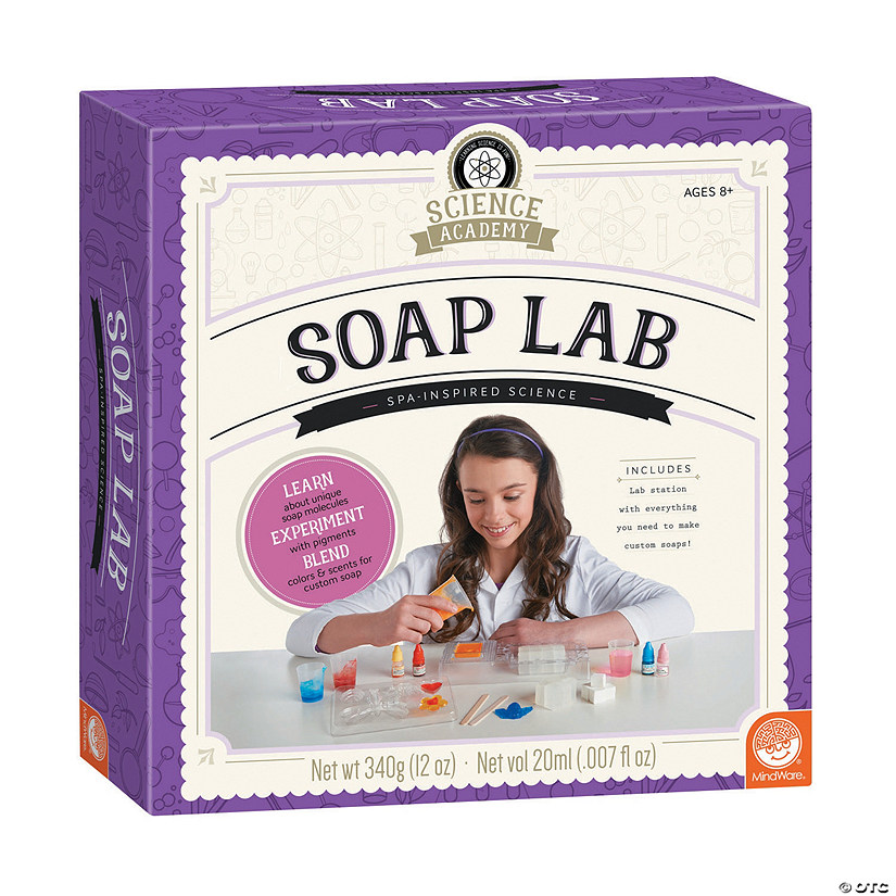 Science Academy: Soap Lab Audio Thumbnail