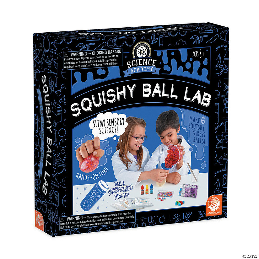 Science Academy: Squishy Ball Lab Image Thumbnail
