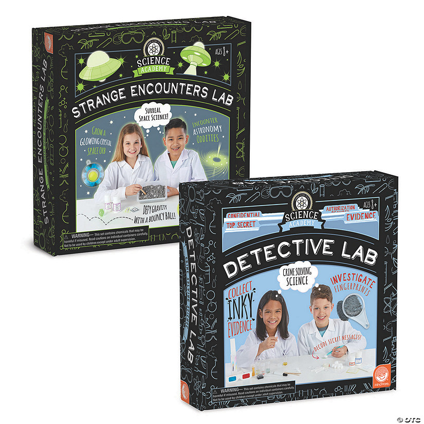 Science Academy: Strange Encounters and Detective Lab: Set of 2 Audio Thumbnail