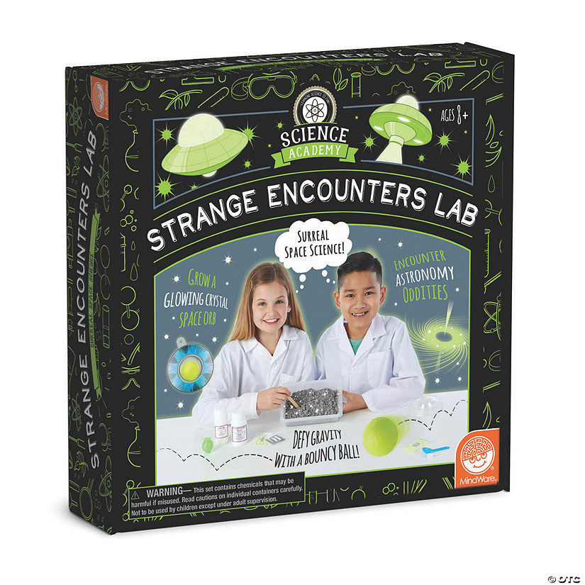 Science Academy: Strange Encounters Lab Audio Thumbnail