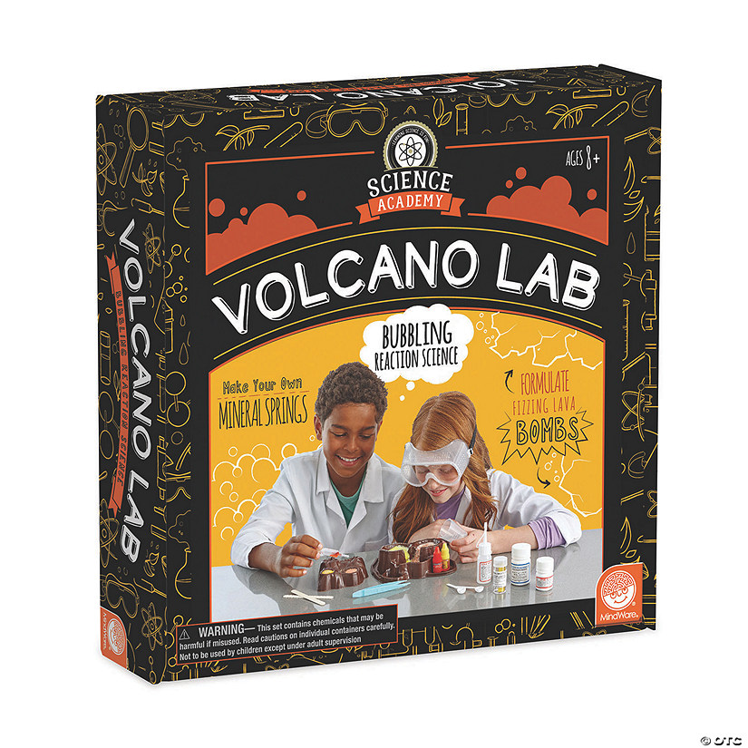 Science Academy: Volcano Lab Audio Thumbnail