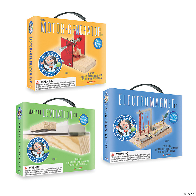 Science Discovery Kits: Set of 3 Audio Thumbnail