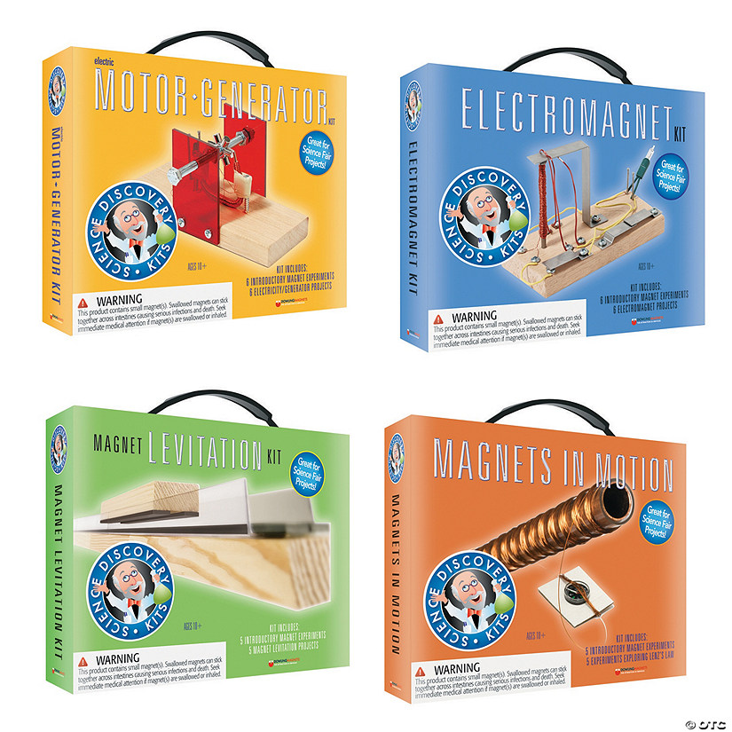 Science Discovery Kits: Set of 4 Audio Thumbnail