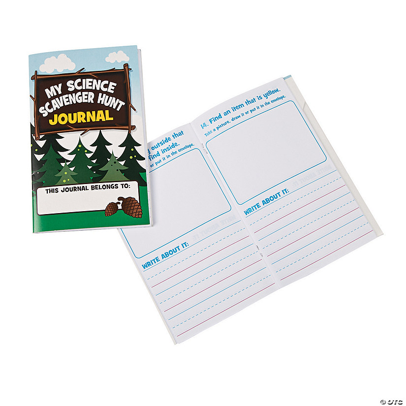 Science Scavenger Hunt Journals