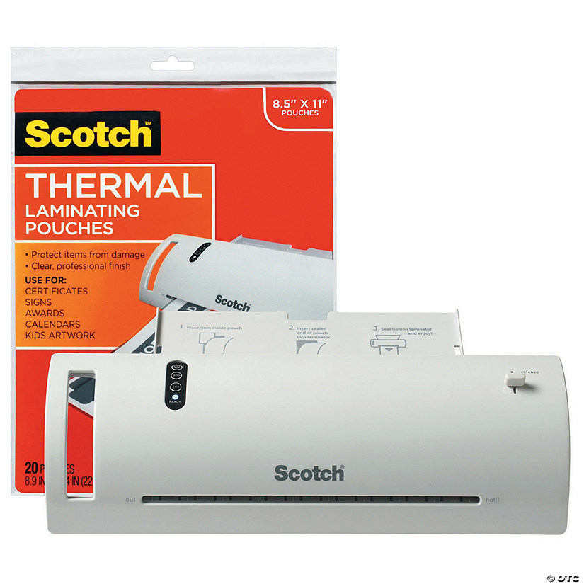 Scotch™ Thermal Laminator Combo Pack