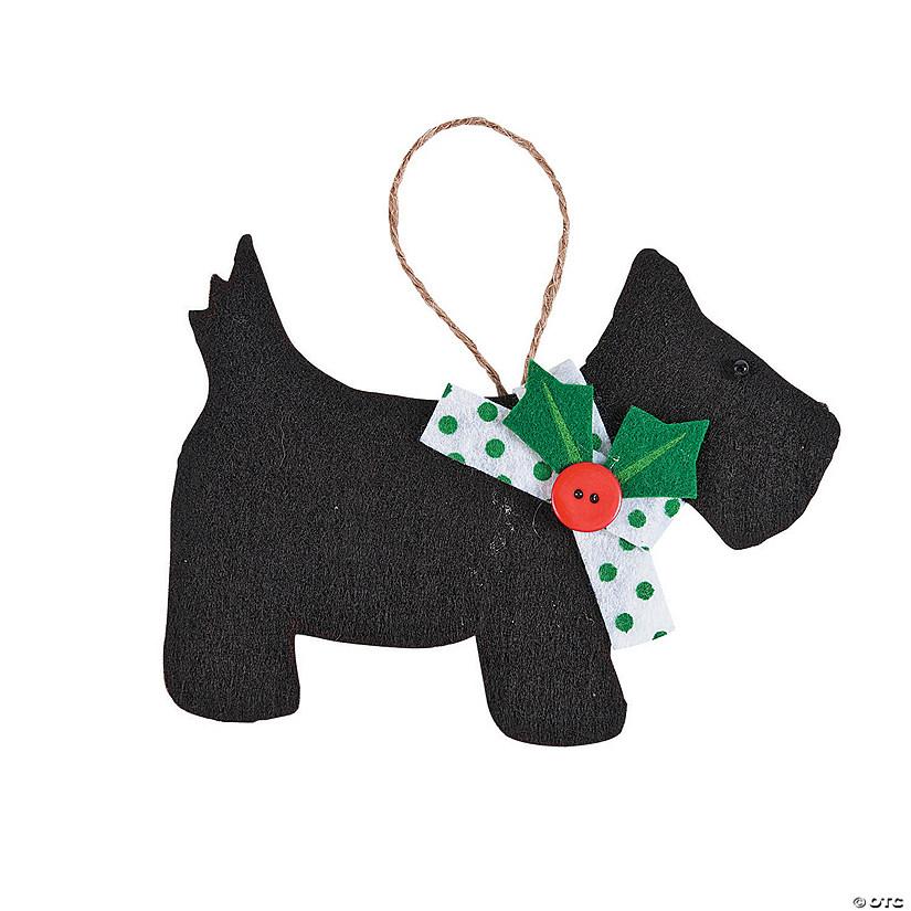 scottie dog ornament craft kit - Scottie Dog Christmas Decorations