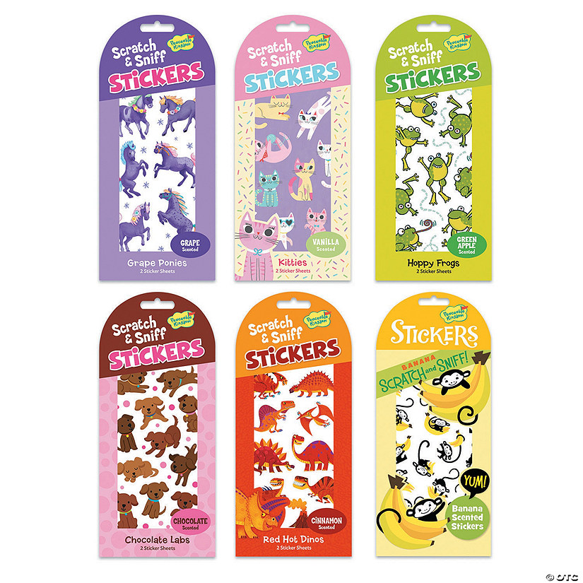 Scratch & Sniff Animal Favorites Sticker Set Audio Thumbnail
