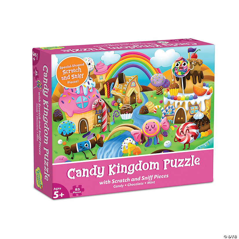 Scratch and Sniff Puzzle: Candy Kingdom Image Thumbnail